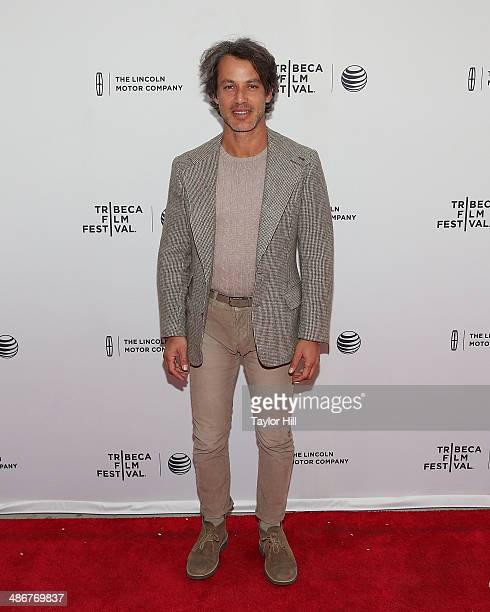 Andrew Lauren attends the premiere of 'Sister' during the 2014 Tribeca Film Festival at SVA Theater on April 25 2014 in New York City