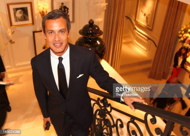 "Andrew Lauren attends the Ralph Lauren celebration for the publication of ""The Hamptons: Food, Family and History"" by Ricky Lauren at the Ralph..."