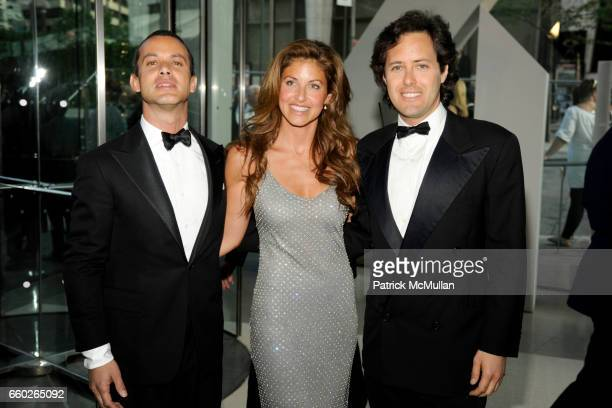 Andrew Lauren, Dylan Lauren and David Lauren attend CFDA AWARDS 2009 - INSIDE at Alice Tully Hall on June 15, 2009 in New York City.
