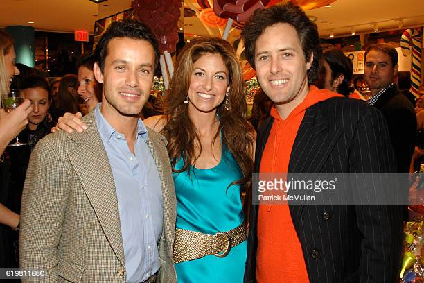 "Andrew Lauren, Dylan Lauren and David Lauren attend DYLAN LAUREN Celebrates the Re-Launch of DYLAN""S CANDY BAR at Dylan's Candy Bar on October 27,..."