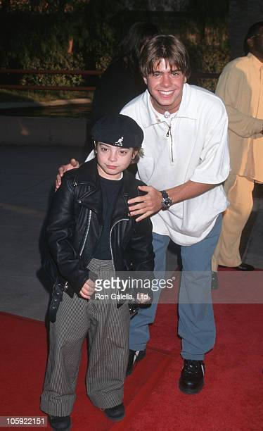 Andrew Lawrence and Matthew Lawrence during 'The Nutty Professor' Los Angeles Benefit Premiere at Universal Studios Amphiteatre in Universal City...