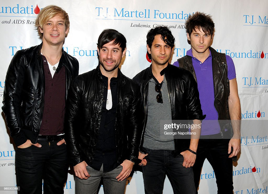 Andrew Lee, Michael Bruno, Jason Rosen and Alexander Noyes of Honor Society attend the 11th Annual T.J. Martell Foundation Family Day benefit on April 18, 2010 in New York City.