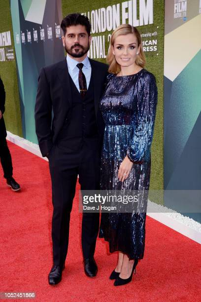 Andrew Levitas and Katherine Jenkins attend the UK Premiere of The White Crow Create Gala at the 62nd BFI London Film Festival on October 18 2018 in...
