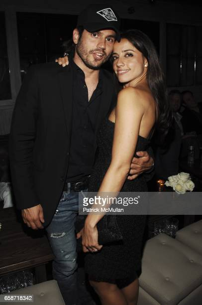 Andrew Levitas and Shoshanna Gruss attend ALI WISE DANI STAHL SHOSHANNA GRUSS'S Birthday Bash at Time Warner Center on June 03 2009 in New York City
