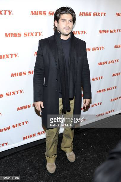 Andrew Levitas attends Miss Sixty Fall 2009 at The Promenade on February 15 2009 in New York City