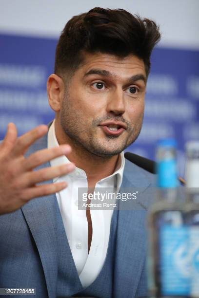 Andrew Levitas is seen at the Minamata press conference during the 70th Berlinale International Film Festival Berlin at Grand Hyatt Hotel on February...