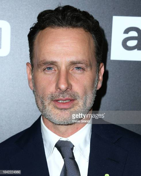Andrew Lincoln arrives at the Premiere Of AMC's 'The Walking Dead' Season 9 at DGA Theater on September 27 2018 in Los Angeles California