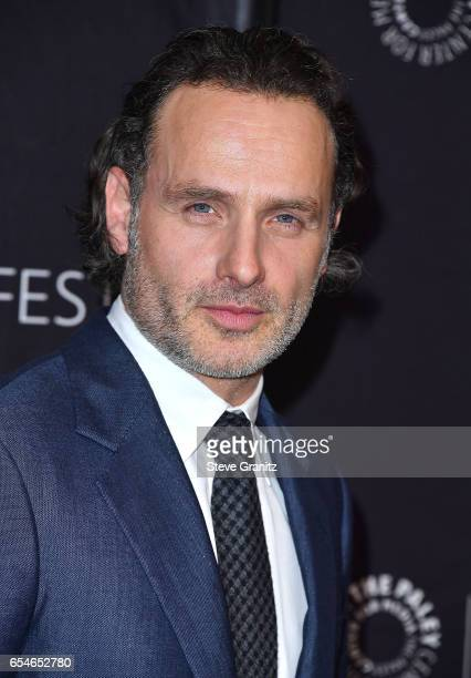"Andrew Lincoln arrives at the The Paley Center For Media's 34th Annual PaleyFest Los Angeles - Opening Night Presentation: ""The Walking Dead"" at..."