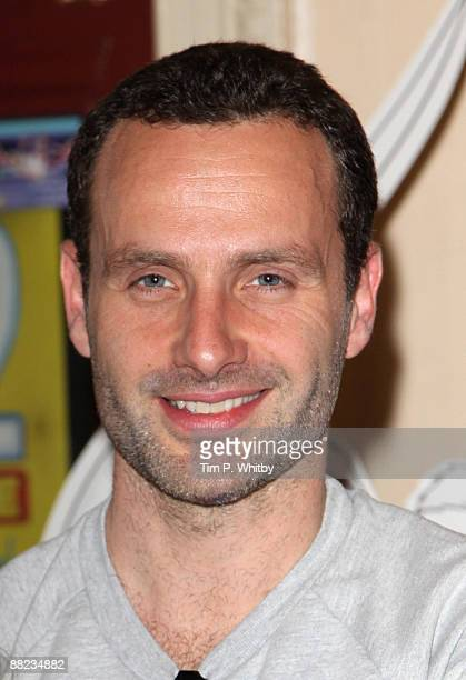 Andrew Lincoln arrives for Angelina Ballerina's Big Audition at Wimbledon New Theatre on June 5 2009 in London England