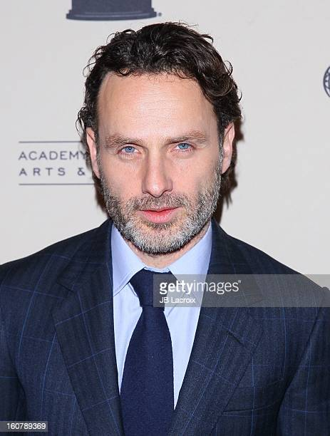"""Andrew Lincoln attends an evening with """"The Walking Dead"""" presented by The Academy Of Television Arts & Sciences at Leonard H. Goldenson Theatre on..."""