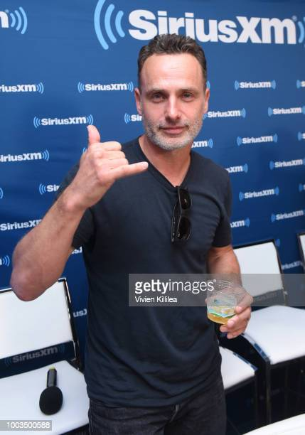 Andrew Lincoln attends SiriusXM's Entertainment Weekly Radio Broadcasts Live From Comic Con in San Diego at Hard Rock Hotel San Diego on July 20 2018...