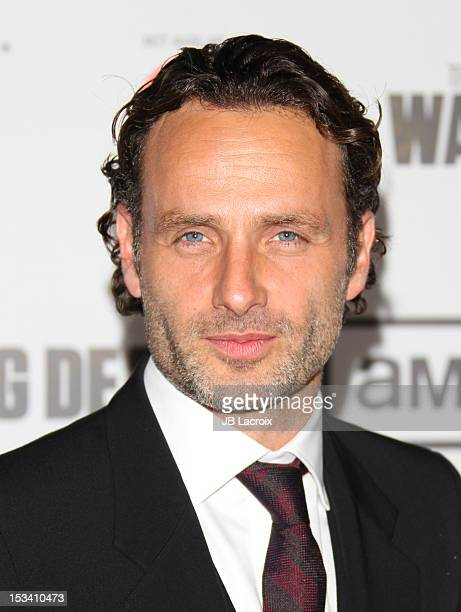 Andrew Lincoln attends the AMC's 'The Walking Dead' Season 3 Premiere held at Universal CityWalk on October 4 2012 in Universal City California