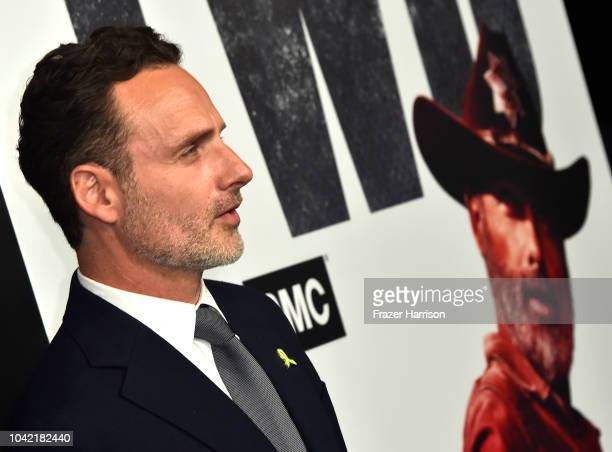Andrew Lincoln attends the Premiere of AMC's The Walking Dead Season 9 at DGA Theater on September 27 2018 in Los Angeles California