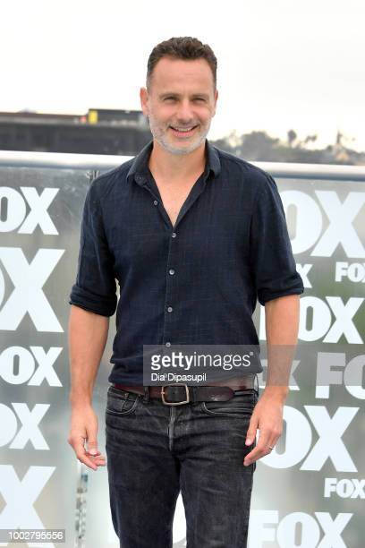 Andrew Lincoln attends 'The Walking Dead' Photo Call during ComicCon International 2018 at Andaz San Diego on July 20 2018 in San Diego California