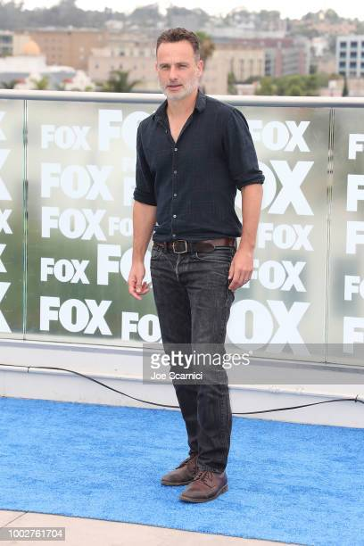 Andrew Lincoln attends the 'Walking Dead' photocell at ComicCon International 2018 on July 20 2018 in San Diego California