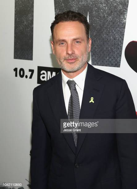 Andrew Lincoln attends The Walking Dead Premiere and After Party on September 27 2018 in Los Angeles California