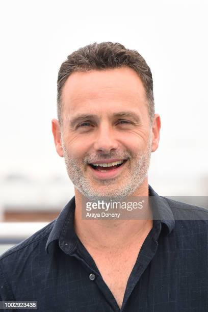 Andrew Lincoln attends 'The Walking Dead' press line at ComicCon International 2018 on July 20 2018 in San Diego California
