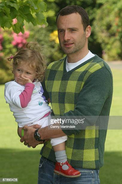 Andrew Lincoln launches The Big Toddle 2009 at Kenwood House on May 21 2009 in London England