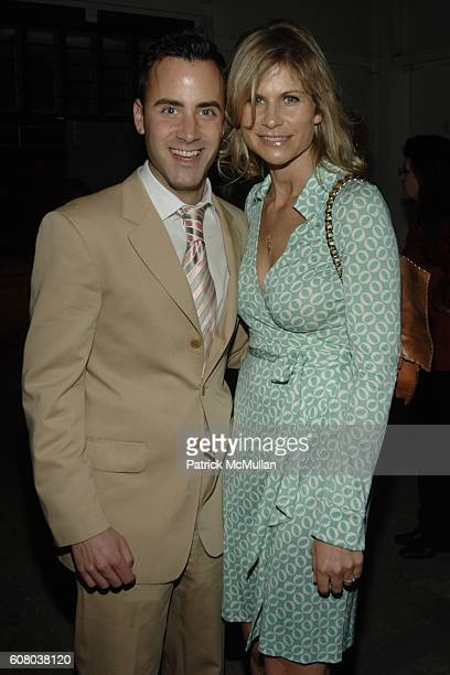Andrew Lipman and Anja Kaehny attend MOORE LOFT SPACE Opening with a Performance by John Bock at The Moore Loft on December 5 2006 in Miami Florida