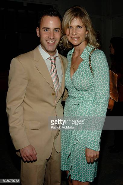 Andrew Lipman and Anja Kaehny attend MOORE LOFT SPACE Opening with a Performance by John Bock at The Moore Loft on December 5 2006 in Miami FL