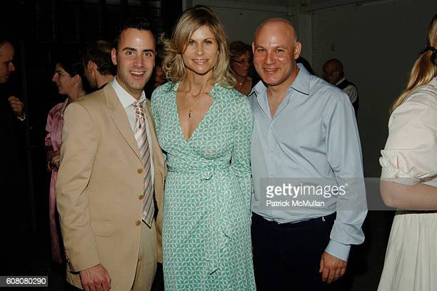 Andrew Lipman Anja Kaehny and Craig Robins attend MOORE LOFT SPACE Opening with a Performance by John Bock at The Moore Loft on December 5 2006 in...