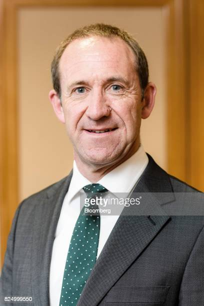 Andrew Little leader of the New Zealand Labour Party poses for a photograph in his office in Wellington New Zealand on Friday July 21 2017...
