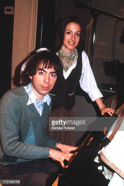 Andrew Lloyd Webber and Patti LuPone rehearsing New York 1978