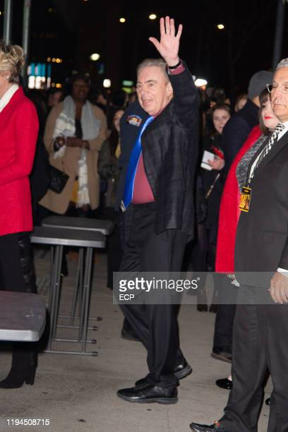 Andrew Lloyd Webber at the CATS premiere on December 16, 2019 in New York City.