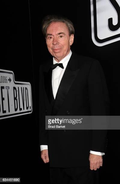 Andrew Lloyd Webber attends Andrew Lloyd Webber's SUNSET BOULEVARD Opens On Broadway Starring Glenn Close on February 9 2017 in New York City