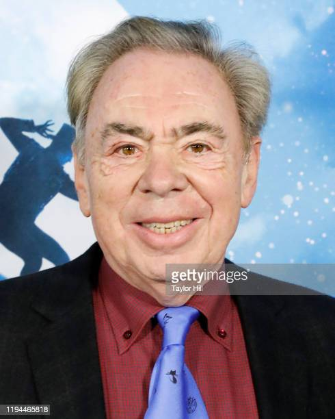 """Andrew Lloyd Webber, Baron Lloyd-Webber, attends the world premiere of """"Cats"""" at Alice Tully Hall, Lincoln Center on December 16, 2019 in New York..."""