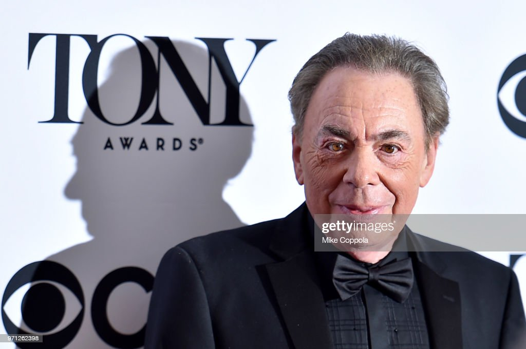 Andrew Lloyd Webber, winner of the award for Lifetime Achievement in the Theatre, poses in the 72nd Annual Tony Awards Media Room at 3 West Club on June 10, 2018 in New York City.