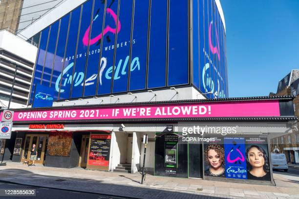 Andrew Lloyd Webbers Cinderella his latest musical comedy starring Carrie Hope Fletcher which is due to reopen at the Gillian Lynne Theater in...