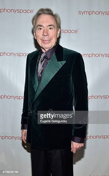 Andrew Lloyd Weber attends the 2015 Symphony Space Gala at Capitale on May 18 2015 in New York City