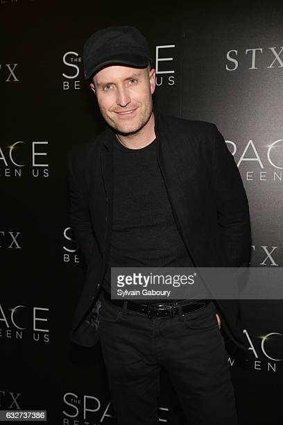 """Andrew Lockington attends STX Entertainment with The Cinema Society Host a Screening of """"The Space Between Us"""" on January 25, 2017 in New York City."""