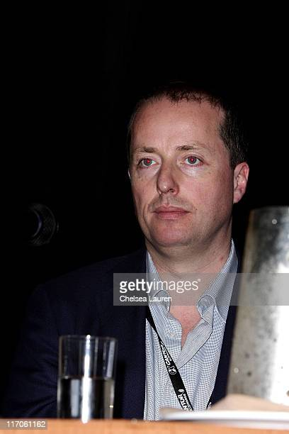 Andrew Lowe of Element Pictures attends the Winston/Baker 2nd Annual Film Finance Forum at The Hyatt Regency Century Plaza on March 3 2010 in Century...