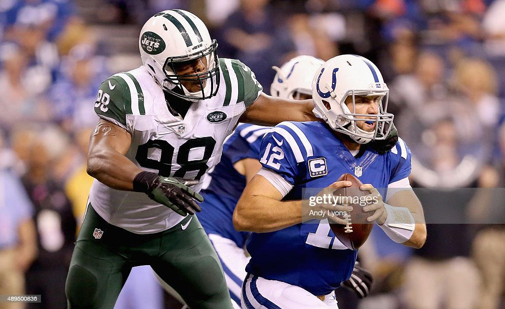 New York Jets v Indianapolis Colts : News Photo