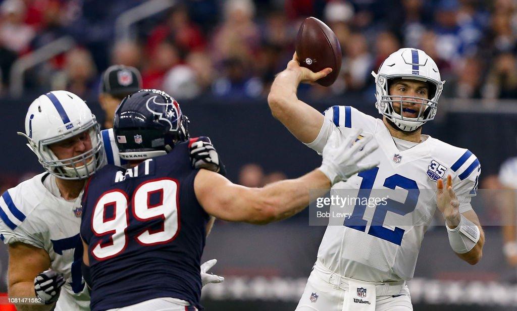 Indianapolis Colts v Houston Texans : News Photo