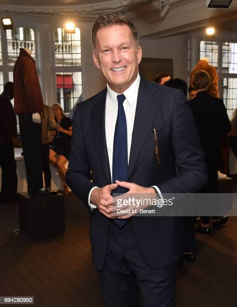 Andrew Maag CEO Dunhill at the dunhill London presentation during the London Fashion Week Men's June 2017 collections on June 9 2017 in London England