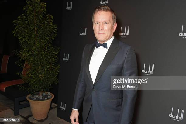 Andrew Maag Dunhill CEO attends the Dunhill GQ preBAFTA filmmakers dinner and party cohosted by Andrew Maag Dylan Jones at Bourdon House on February...