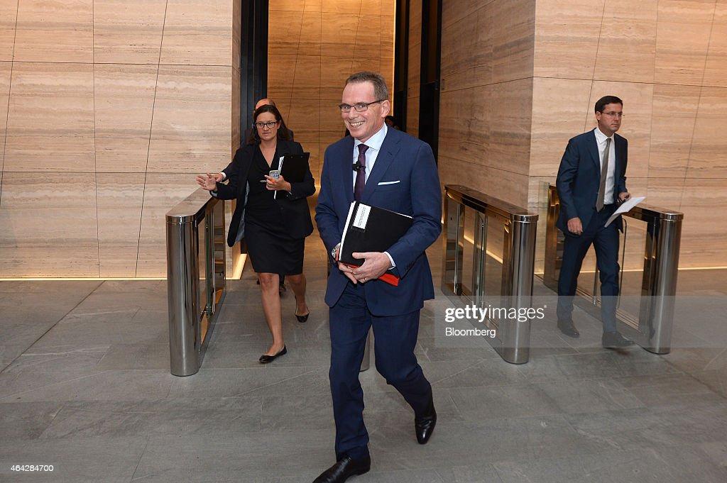 BHP Billiton CEO Andrew Mackenzie Attends Investor Briefing For Interim Results
