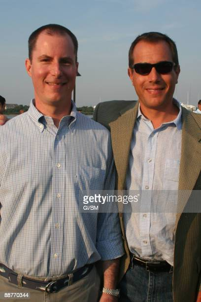 ACCESS*** Andrew Madoff and Mark Madoff during July 2007 in Montauk NY
