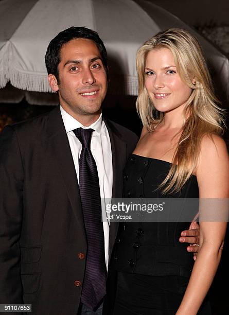 Andrew Marcus and actress Ali Larter attends The Art of Elysium HEAVEN Gala Committee Dinner hosted by Gilt Groupe at Sunset Tower on September 23...