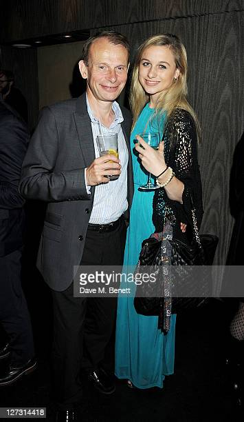 Andrew Marr and daughter Emily attend an after party celebrating Press Night of The Playboy Of The Western World at Baltic on September 27 2011 in...