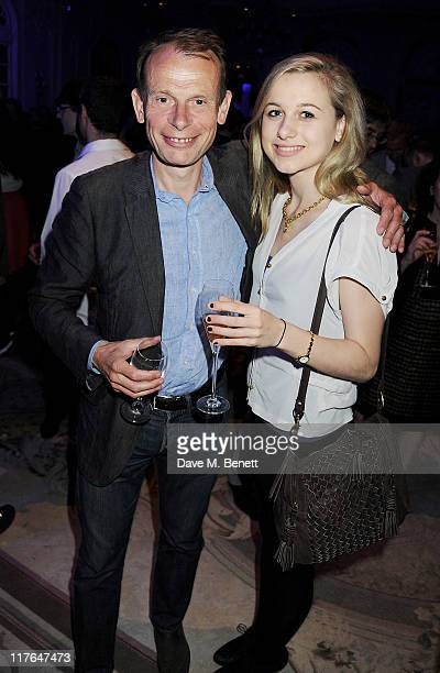 Andrew Marr and daughter Emily attend an after party following press night of The Old Vic's production of Richard III starring Kevin Spacey and...