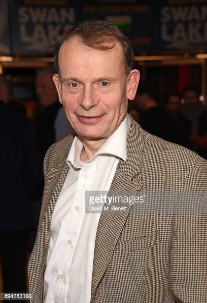Andrew Marr attends the evening Gala Performance of Matthew Bourne's Cinderella at Sadler's Wells Theatre on December 17 2017 in London England