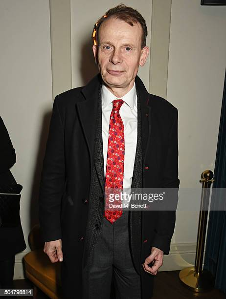 Andrew Marr attends the film premiere of 'Attacking The Devil' at Picturehouse Central on January 13 2016 in London England