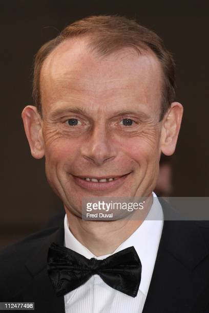 Andrew Marr attends the Galaxy British Book Awards at Grosvenor House on April 3 2009 in London England