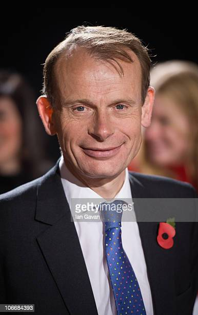 Andrew Marr attends the Galaxy National Book Awards at BBC Television Centre on November 10 2010 in London England