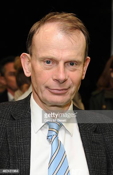 Andrew Marr attends the Paddy Power Political Book Awards at BFI IMAX on January 28 2015 in London England