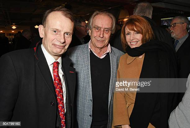 Andrew Marr Gerald Scarfe and Jane Asher attend the film premiere of 'Attacking The Devil' at Picturehouse Central on January 13 2016 in London...